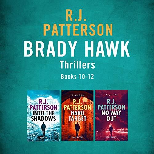 The Brady Hawk Series: Books 10-12 cover art