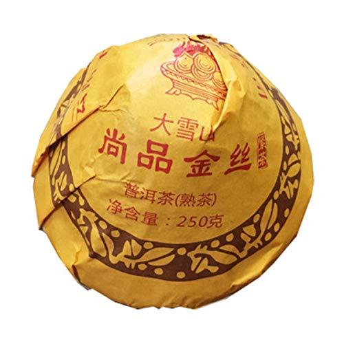 250g (0,55LB) Tè maturo Pu'er Tè vecchio Puer Alte montagne innevate Tè Pu'er Tè nero Tè al forno Pu-erh Tè Pu Erh Tè cinese Tè sano Puerh Tè rosso Verde Buono Shu Cha