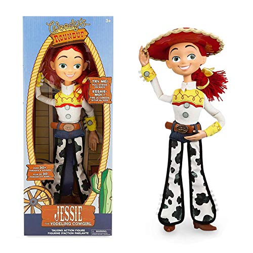 Film Toy Story Personaggio Action Figure Model Talking Jesse Cloth Body Model Doll Toy Regalo Di Compleanno Per Bambini 40 Cm