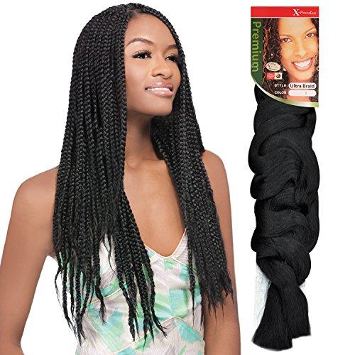 OUTRE X-PRESSION Kanekalon Synthetic Hair Braids (6-Pack, 99J)
