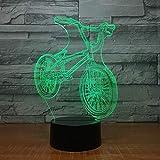 周囲光、 ホリデーギフト主導テーブルランプ7色のUSBの子供のギフトスリープデコレーションハロウィンギフト自転車