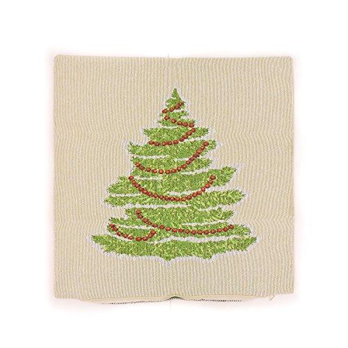 SPENCER N. ENTERPRISES Make-Your OWN-Pillow Tapestry Tree Throw Pillow Cover