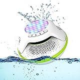 BMDHA Cassa Bluetooth, Cassa Bluetooth Luci a LED della Batteria Mini Senza, Casse Pc All'Aperto Portatile Altoparlante Bluetooth Colorate A LED Speaker Bluetooth Impermeabile