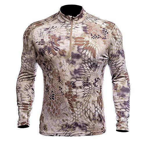 Kryptek Hunting Clothing - Hoplite Merino Wool 1/4 Zip Base Layer