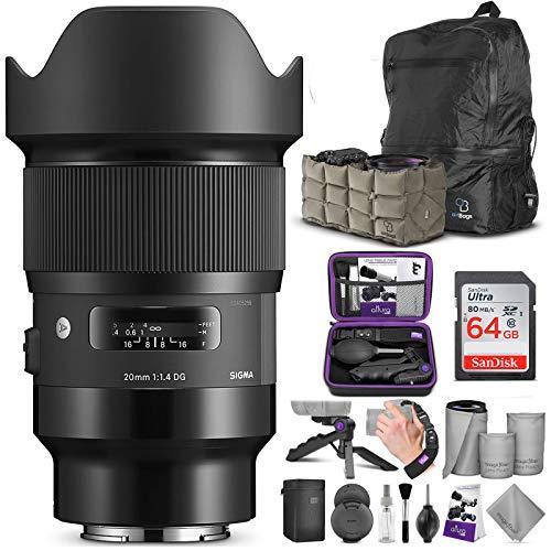 Sigma 20mm f/1.4 DG HSM Art Lens fo…