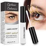 Eyelash Eyebrow Growth Serum,Eyelash Growth Enhancer, Rapid eyebrow Growth for Naturally Longer, Fuller