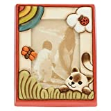 THUN ® - Cornice Portafoto da Tavolo Medio Unisex - Ceramica - Formato 16x20 cm