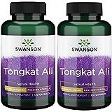 Swanson Tongkat Ali 400 Milligrams 120 Capsules (2 Pack)