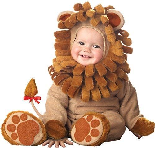 Generique - Disfraz León para bebé - Lujo - 0-6 Meses (58-66 cm)