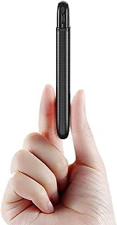 RIWNNI Mini Bateria Externa 5000mAh, Ultra Delgado Power Bank Pequeño y Ligero Batería Portátil con 2 Salida & 2 Entrada Carga Rápida Cargador Portatil Movil para iPhone, Samsung, Huawei y Más - Negro