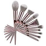 ZoSiP Pinceles de Maquillaje Profesional Pulgar Cepillo del Maquillaje del Cepillo es Adecuado for la Fundación de Sombra de Ojos lápiz de Cejas Rubor Polvos Corrector Contorno