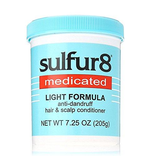 Sulfur8 Acondicionador fórmula ligera, anticaspa 7.25 oz (paquete de 2)