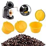 AVEE 1 PC de la cápsula de café Reutilizable de plástico rellenables cestas de Filtro de café de Filtro compatibles para Dolce Gusto Cerveceros de Recarga Copa