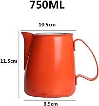 ZDAMN Mjölkkanna latte konst kaffemaskin tillbehör perfekt för latte konst espressotillverkare cappuccino maker grädde & m...