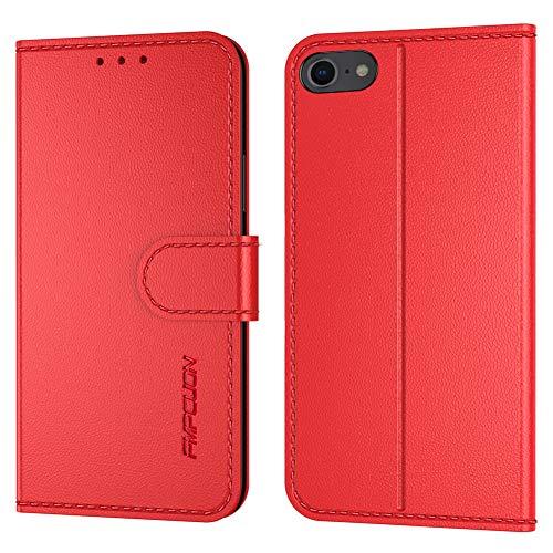 FMPCUON Handyhülle Kompatibel mit iPhone 7/8/iPhone SE 2020(Neueste),Premium Leder Flip Schutzhülle Tasche Case Brieftasche Etui Hülle für iPhone 7/8/iPhone SE 2020 4.7