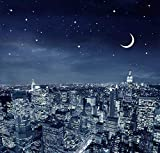 Luz de Luna Nueva York Skyline, de madera rompecabezas for...