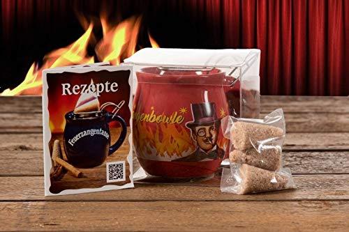 Feuerzangentasse 1er-Set, Terracotta/Rühmann - für Feuerzangenbowle