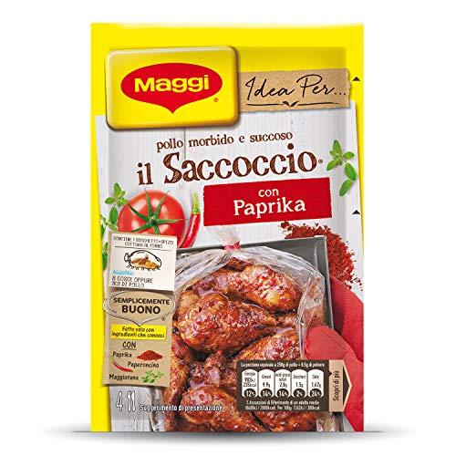 IL SACCOCCIO CON PAPRIKA Sacchetto e spezie per pollo al forno 1 pezzo