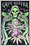 Grim Reefer Blacklight Poster - Flocked - 23' x 35'