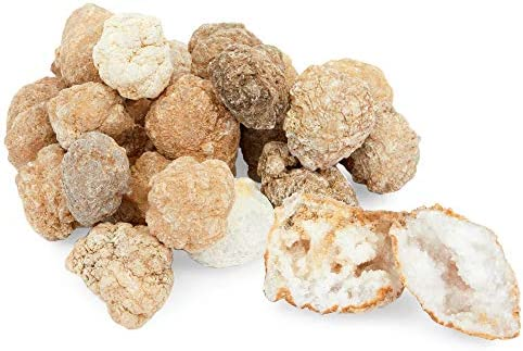 Okuna Outpost Break Your Own Geodes Crystals Surprise for Kids 2lbs 24 Pack product image
