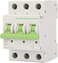 Leakage Circuit Breaker, Overload Protection Small 3P Circuit Leakage Protector, High-Rise Building for Building Lighting(...