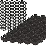 Standartpark - HEXpave Grid - 1' Depth Permeable Paver System - 27,000 lbs Load Class - DIY Patio, Walkway, Shed Base, Light Vehicle Driveway and Much More! (50 Sq Ft)