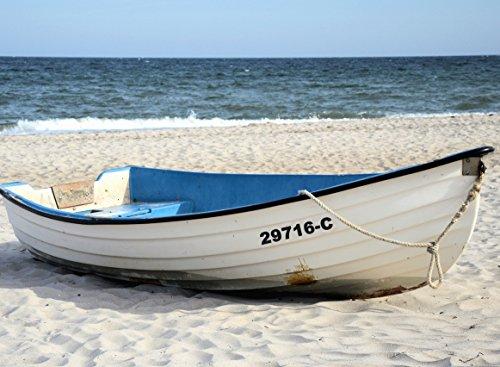 Lausitzwerbung Bootsbeschriftung Schiffskennnzeichen kennzeichnung Beschrichtung für Schlauchboot, GFK, Jetski (15 cm, fest (z.B. für GFK-Boote))
