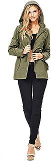 Ambiance Women's Cargo Style Hoodie Jacket