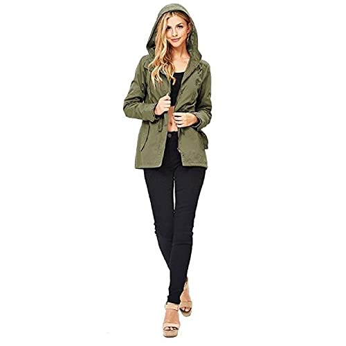 1e2692d6352 Ambiance Women s Cargo Style Hoodie Jacket