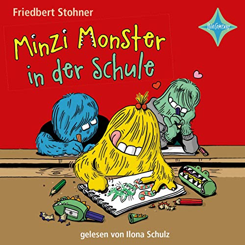 Couverture de Minzi Monster in der Schule