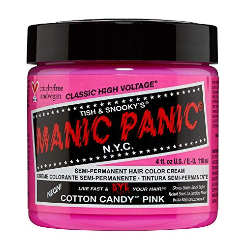 Manic Panic Haartönung COTTON CANDY, Rosa, 118 ml (1er Pack)
