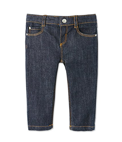 Petit Bateau Pantalon, Mixte Bébé, Bleu (Jean), 0-3 Mois (Taille Fabricant: 3M)
