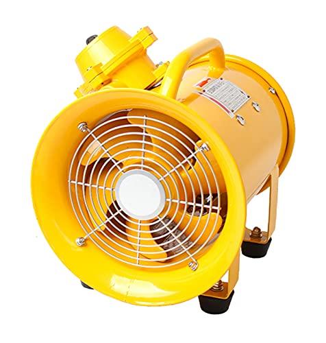 """JXH Ventilador De Ventilación Portátil A Prueba De Explosiones De 12""""Pulgadas 300 Mm Ventiladores con Clasificación ATEX Extractor De Ventilador Axial De Escape Ventilador De Ventilación"""
