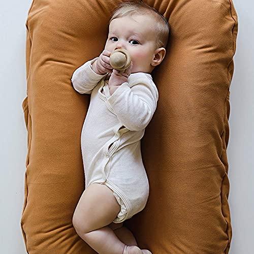 Jingmei Cuna Nido Bebe Recien Nacido NiñA - 100% algodón Nido Reductor para Cuna - Adecuado para Cambiar pañales. BesBet