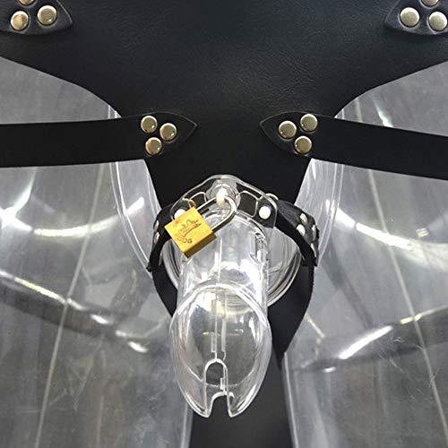 YTZZ Transparente Cinturón Ajustable con Bragas Realistas ...