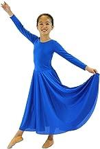 Danzcue Girls Praise Loose Fit Full Length Long Sleeve Dance Dress