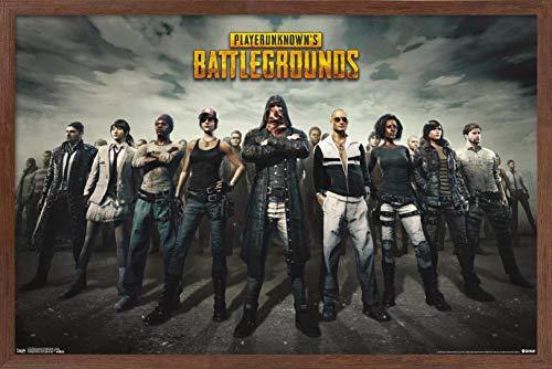 Trends International PLAYERUNKNOWN's Battlegrounds (PUBG) - Group Wall Poster, 22.375