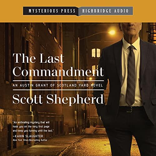 The Last Commandment Audiobook By Scott Shepherd cover art