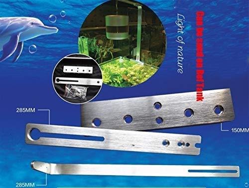 Nouvelle version d'application de la LED marine pour plantes d'aquarium avec mode chronométré et fonction du temps lampe à eau tube pour aquarium lampe pour plantes d'aquarium réserve de poissons à bu