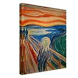Leinwandbild Edvard Munch Kunstdruck Bild auf Leinwand Der