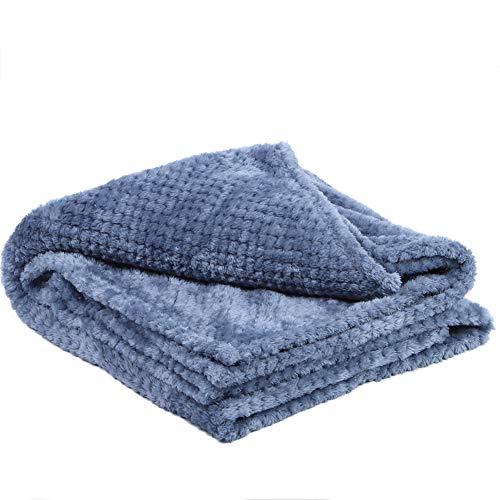 Cafopgrill Hogar Dormitorio Manta Blanda Aire Acondicionado Mantas de Cama Todas Las Estaciones Mantas cálidas y Ligeras para sofá Cama Sofá Oficina(Los 70 * 100cm)