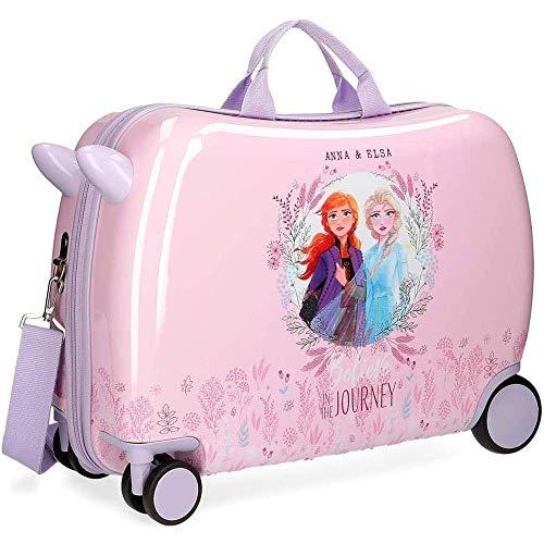 Trolley Frozen II Elsa Anna Disney Reis, 4 wielen, uittrekbaar, 50 x 38 x 20 cm, van ABS – 4759861