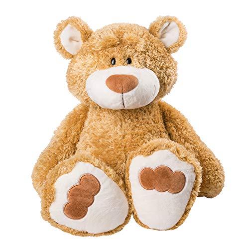 NICI 46510 Kuscheltier Bär 70 cm – Plüschtier für Mädchen, Jungen & Babys – Flauschiges Stofftier zum Spielen, Sammeln & Kuscheln – Gemütliches Schmusetier, Goldbraun