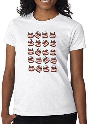 FunnyWear Nutella Lover Women s Shirt Custom Made T-Shirt (S