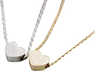 My Fat Sweet Love Baby Small Mini Big Best Solid Angel Hot Human Good Glowing Loving Kingdom Forever Candy Natural Heart Charm Pendant Necklace Women Teens Girls Kids-iv