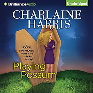 Playing Possum audiobook cover art