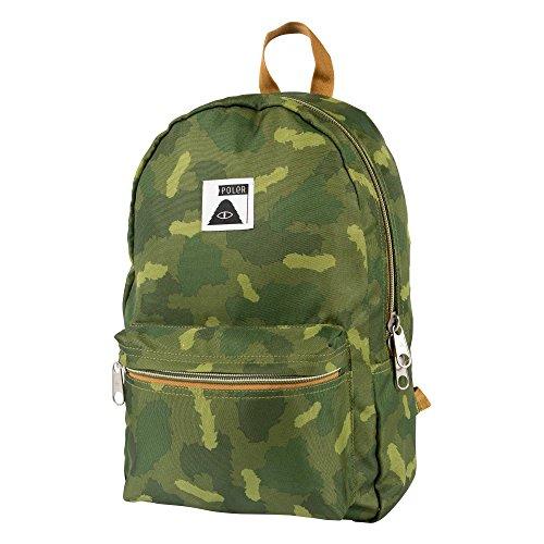 POLER Rucksack Bag Rambler Pack, Green Camo, 50 x 40 x 6 cm, 14 Liter, POLBAG_RAM