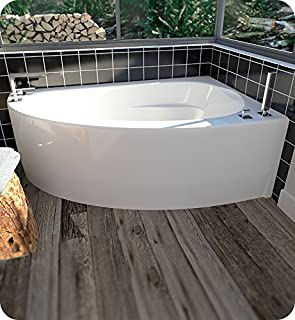 neptune wind corner soaker tub