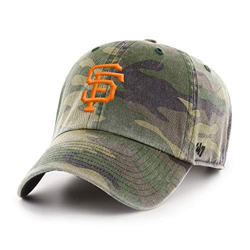 47 Camo Clean Up Adjustable Dad Slouch Cap (San Francisco Giants)