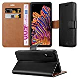 iPEAK For Samsung Galaxy Xcover Pro Phone Case Leather Flip